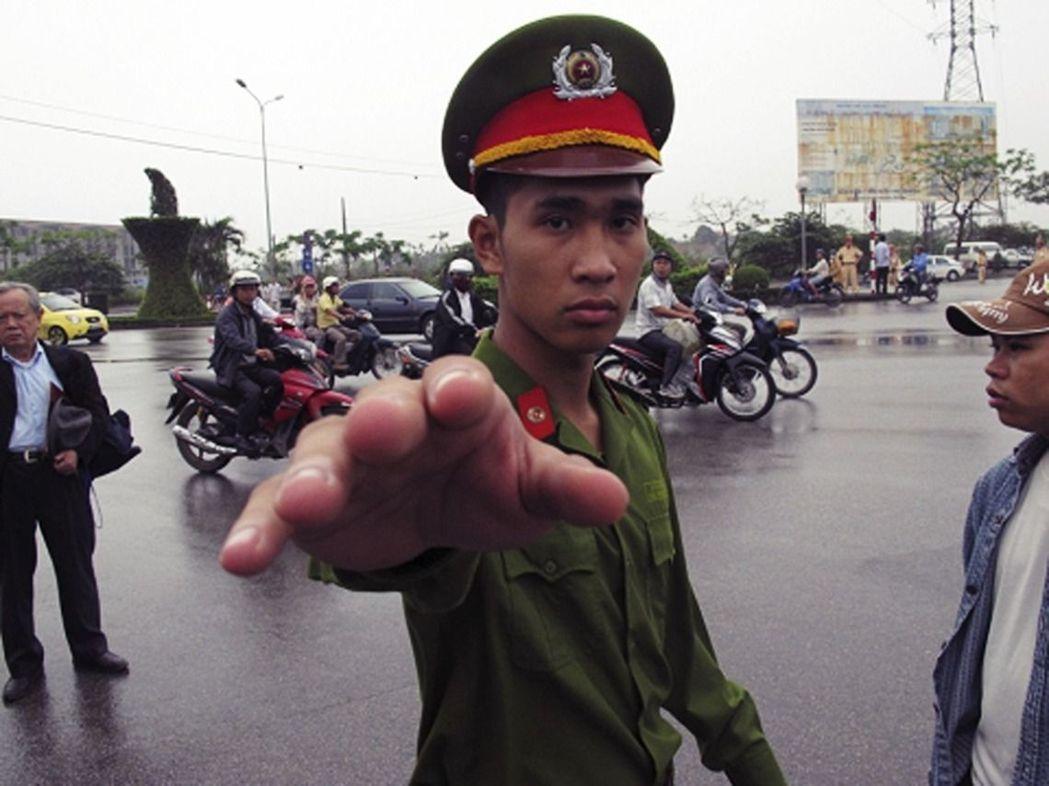 越南政府近年對民間異議人士大舉鎮壓。 (美聯社)