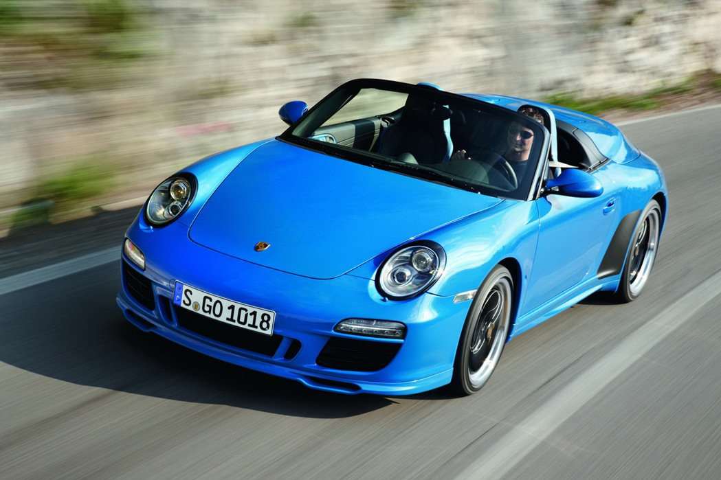 2010年推出的Porsche 911 Speedster。圖/Porsche提...