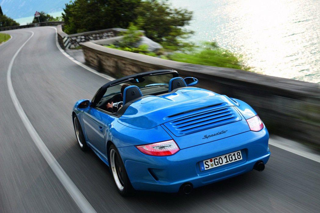 2010年推出的Porsche 911 Speedster。圖/Porsche提供
