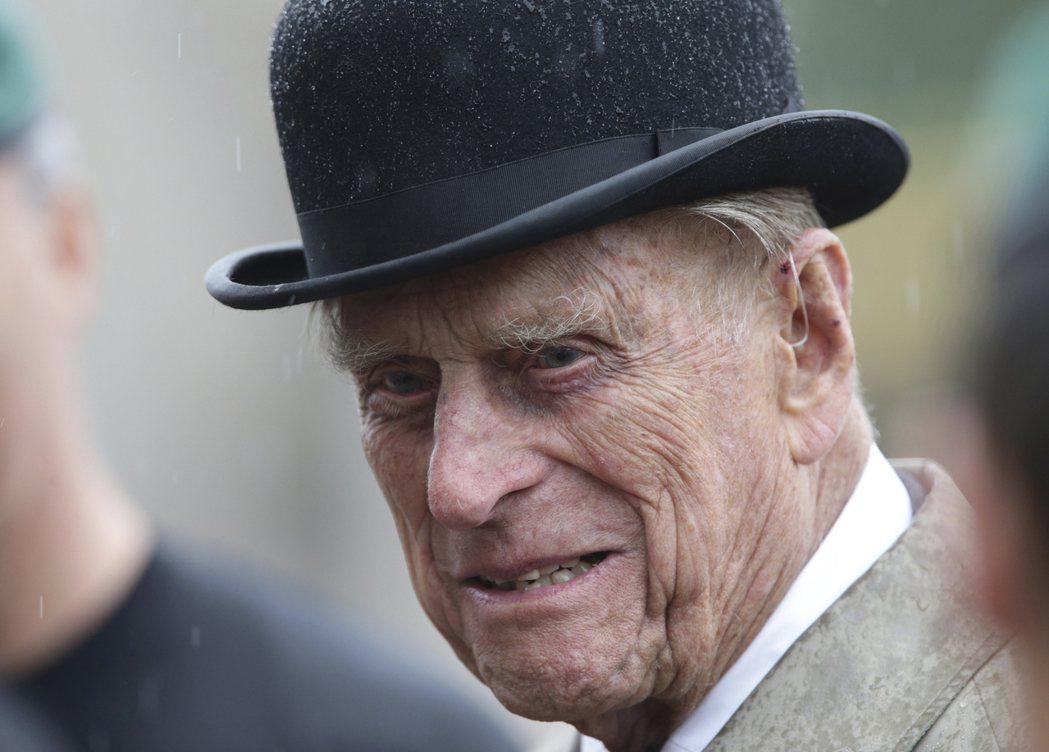 英國女王伊麗莎白二世的夫婿、高齡96歲的菲立普親王2日出席最後一場個人參與的公共...