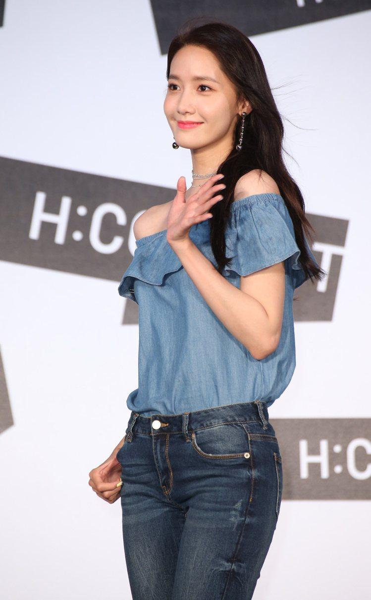 少女時代潤娥來台舉辦粉絲見面會。圖/記者陳立凱攝影