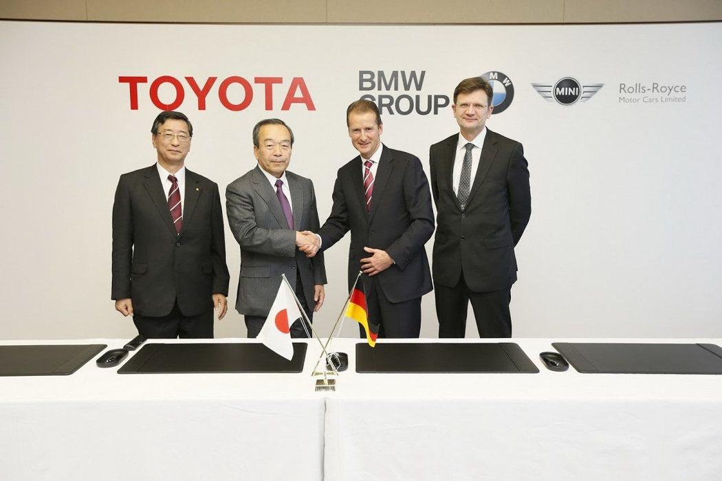 2013年Toyota與BMW簽屬的合作協議中,包含燃料電池的開發。 摘自Car...