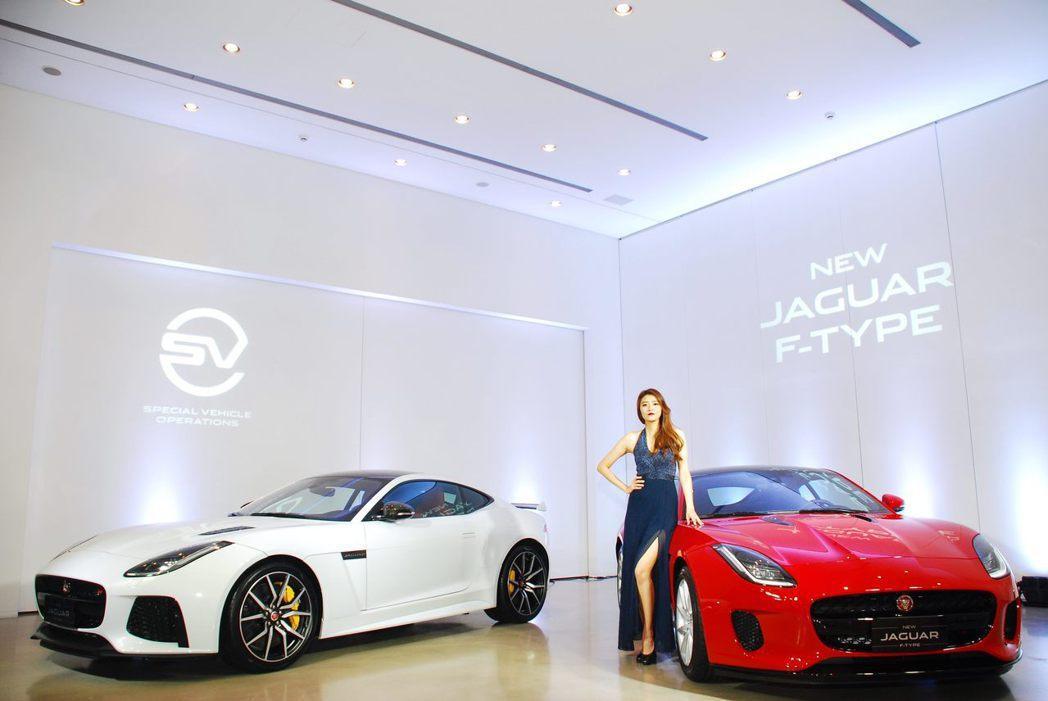 Jaguar F-Type。記者林昱丞/攝影