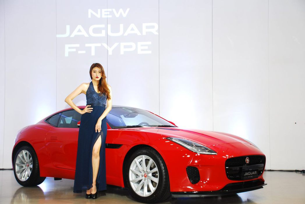 Jaguar F-Type Coupe。記者林昱丞/攝影
