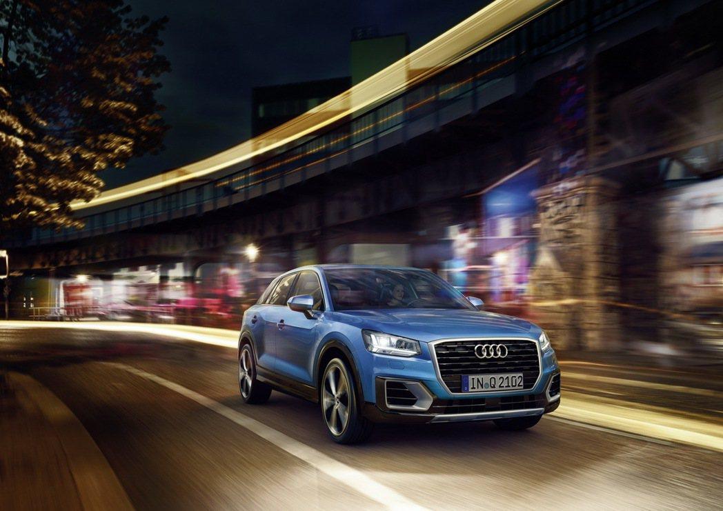 Audi Q2。 圖/台灣奧迪提供