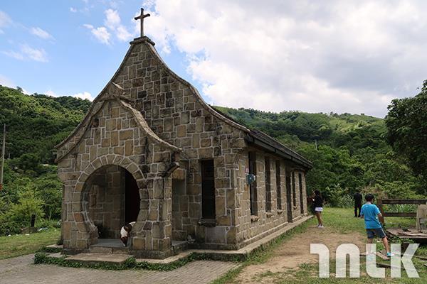 ▲古色古香,造型小巧優美的基國派老教堂。