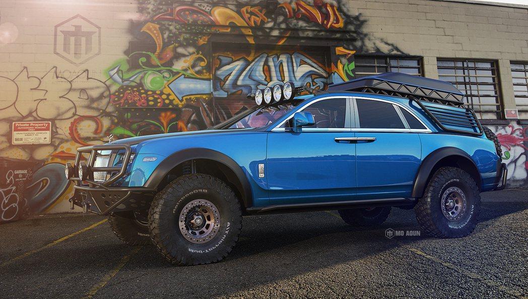Rolls-Royce Ghost合成圖。圖/摘自moaountoyota.we...