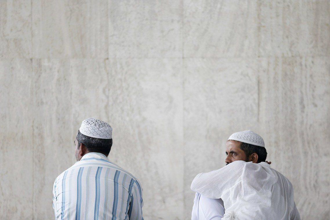資料圖片:吉隆坡的印度裔穆斯林。 圖/路透社