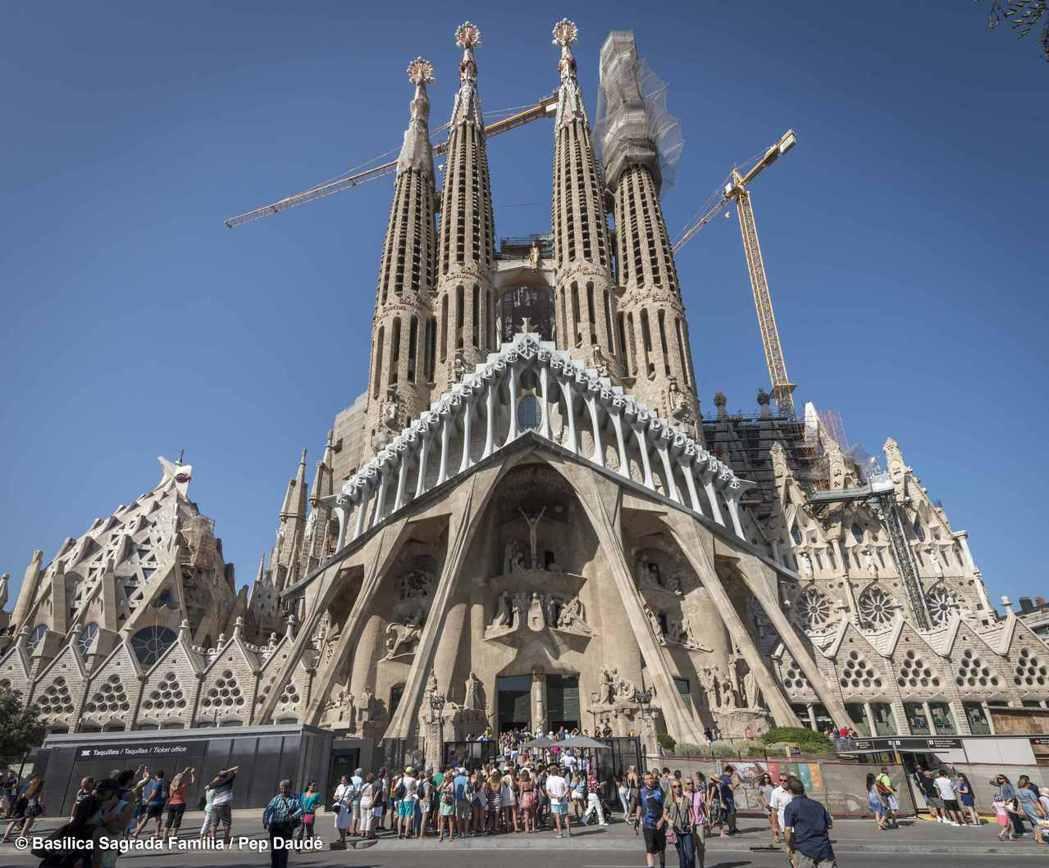 預計2026年完工的巴塞隆納聖家堂 圖/時藝多媒體 提供