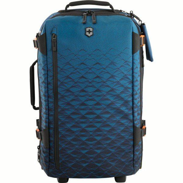 Victorinox Vx Touring系列藍色兩用登機型帶輪背包,約15,0...