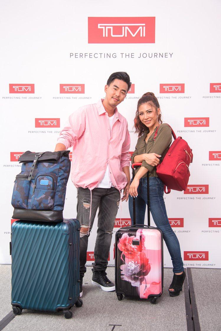 TUMI發表2017年秋冬系列包款及行李箱,並邀請柯有倫與艾怡良,特別現身分享各...