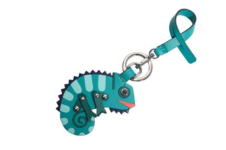 變色龍鑰匙圈,售價2,980元。圖/JAMEI CHEN提供