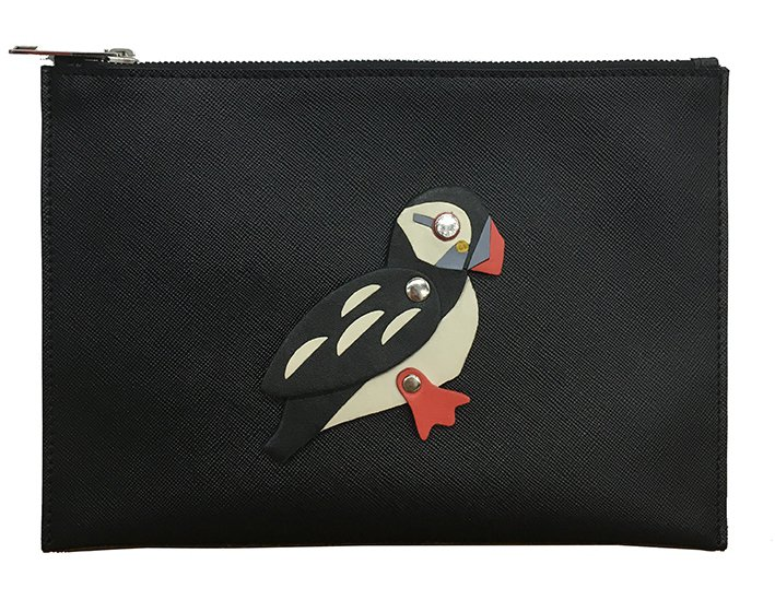 北極海鸚鵡皮革包,售價5,980元。圖/JAMEI CHEN提供
