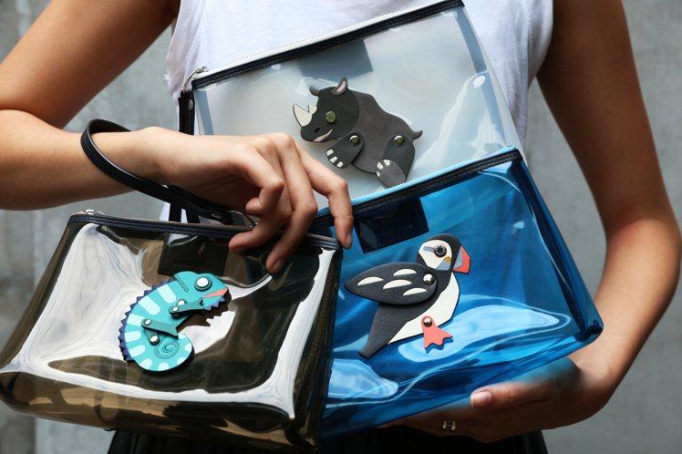 JAMEI CHEN以瀕危動物作為主題,打造小包款。圖/JAMEI CHEN提供