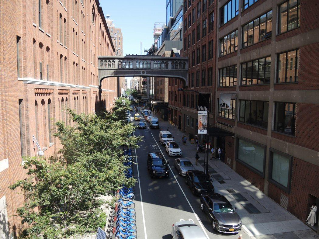 高線公寓為社會名流、藝術家、商業大亨趨之若鶩。記者俞姝含/攝影