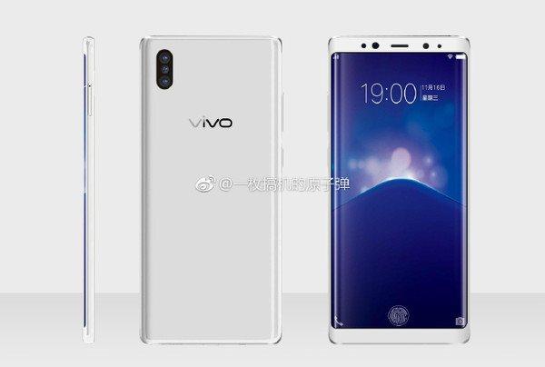 中繫手機品牌Vivo下半年旗艦機種Xplay7後置鏡頭採用3顆鏡頭,另外,前置鏡...