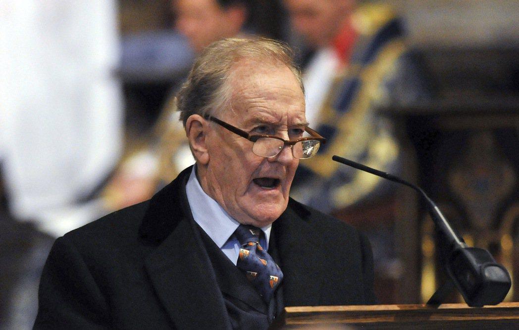 英國演員羅伯特哈迪(Robert Hardy)3日以高齡91歲辭世。 美聯社