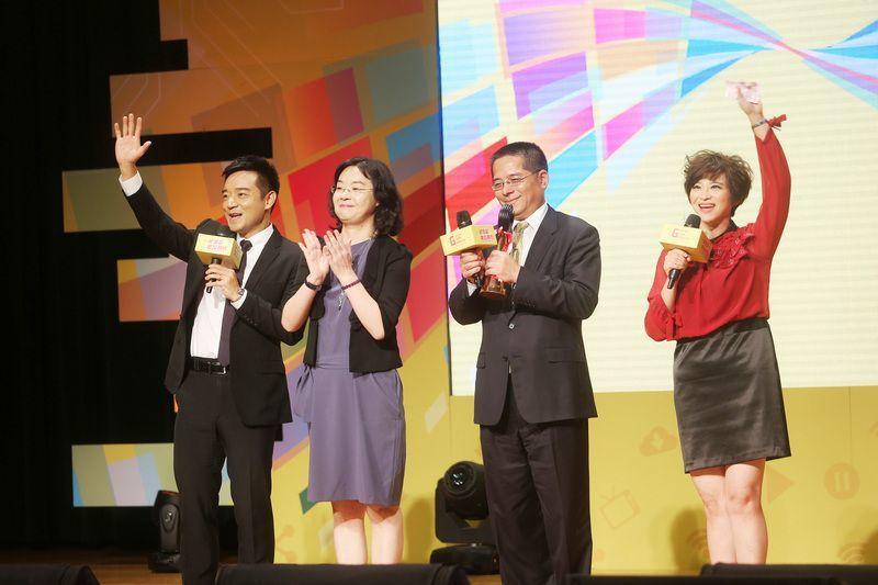 106年度金視獎頒獎典禮4日在台北舉辦,群健有線電視股份有限公司獲年度系統躍進獎