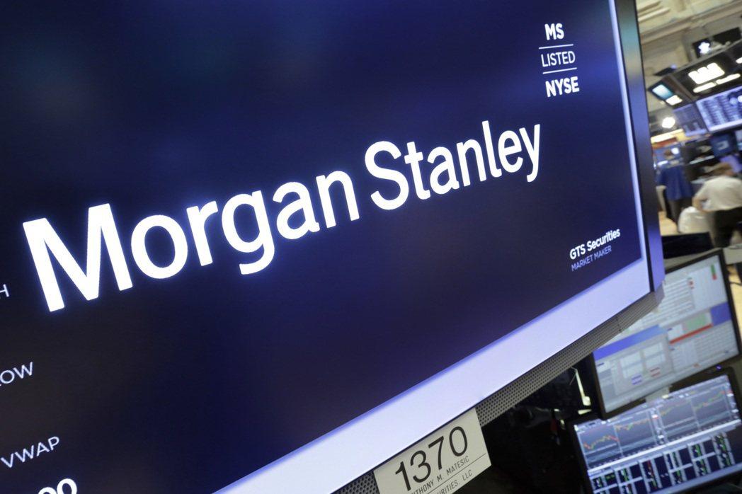 摩根士丹利市值10年來首次超越高盛集團。(美聯社)