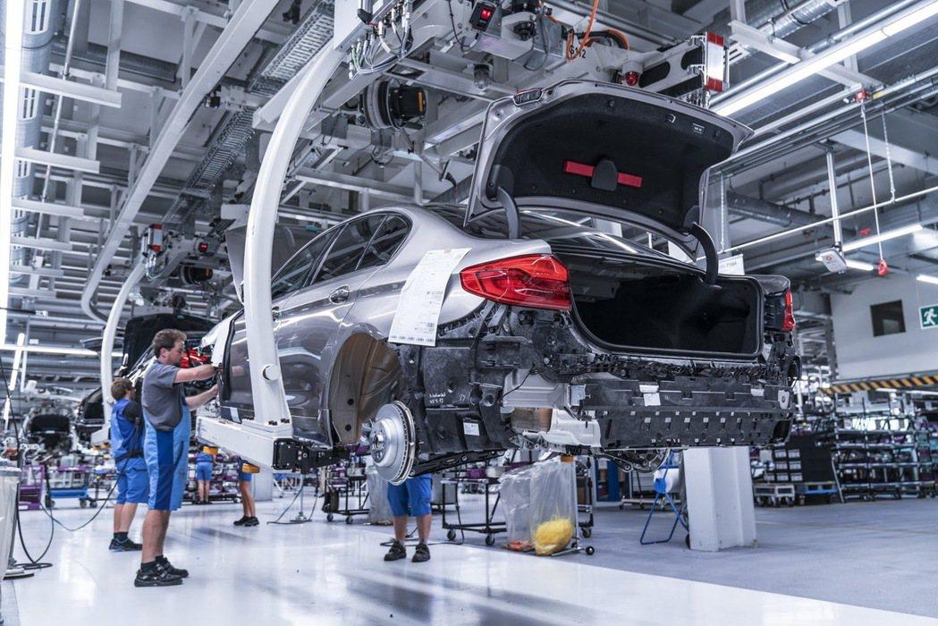 汽車業在德國是非常大的產業,平均五人就有一人從事汽車業。 摘自BMW