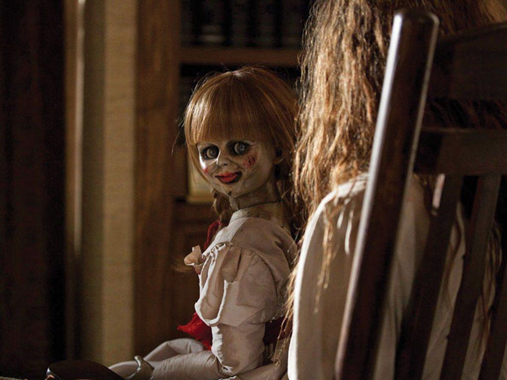 「安娜貝爾」再度掀起鬼娃風潮。圖/華納兄弟提供