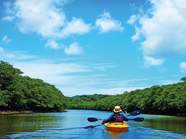 Iriomote Kayaks風車/不必經過專業訓練也能輕鬆上手的獨木舟體驗大受...