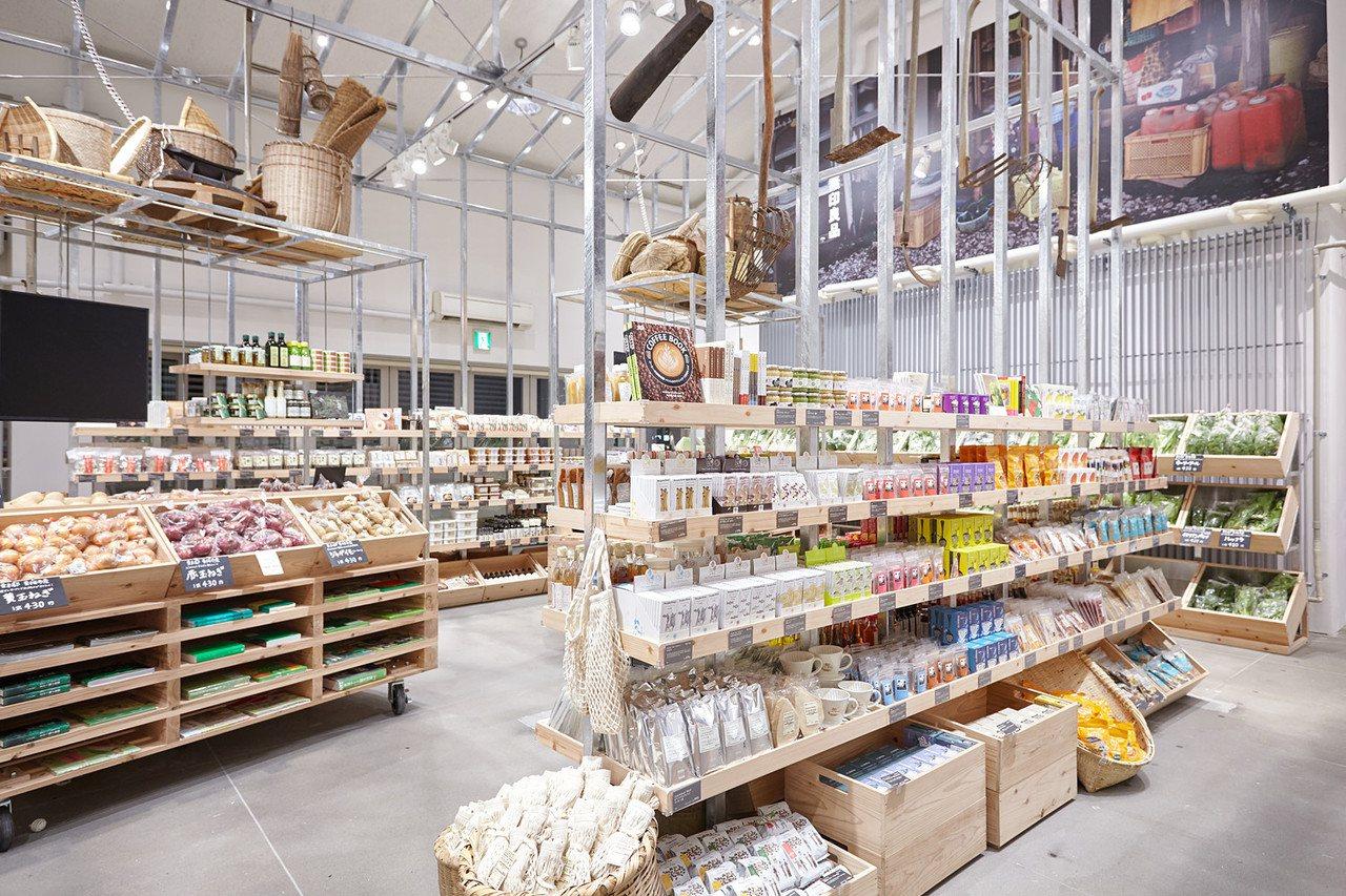 無印良品蔬果市場成為朝聖新地標。圖/無印良品提供