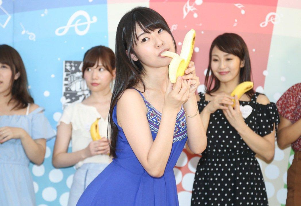 日本AV女優蕾。記者黃威彬/攝影