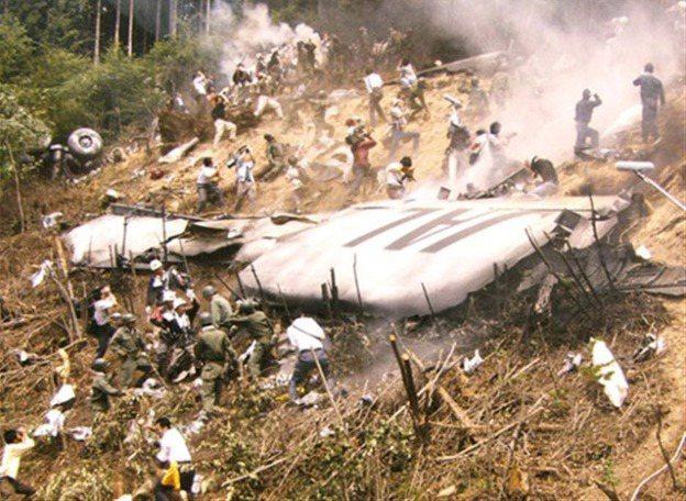 日航1985年JL123空難,後來被寫成小說「不沉的太陽」。 圖/取自網路
