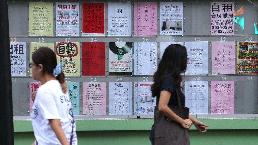 台北市雖然生活機能完善,但物價、房價高漲也頻頻讓民眾大喊吃不消。 報系資料照