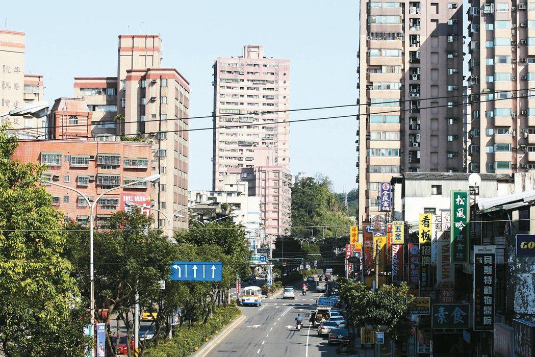 圖為汐止新台五路附近社區,非當事人購屋地點。 報系資料照