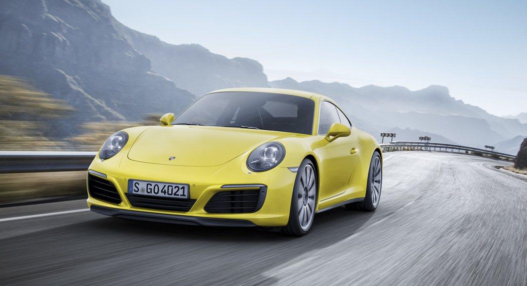 Porsche 911 Carrera 4S。圖/Porsche提供