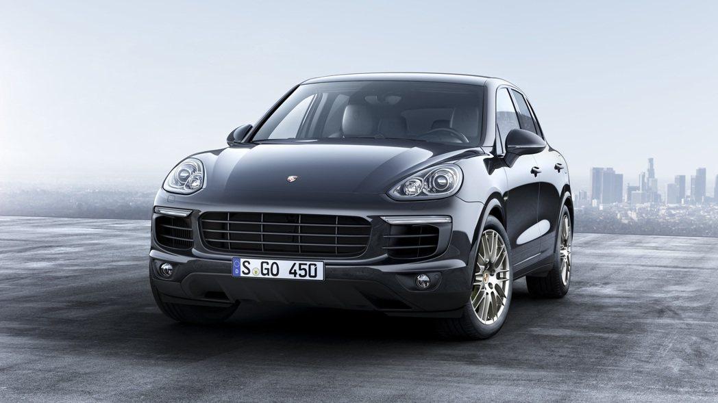 Porsche Cayenne。圖/Porsche提供