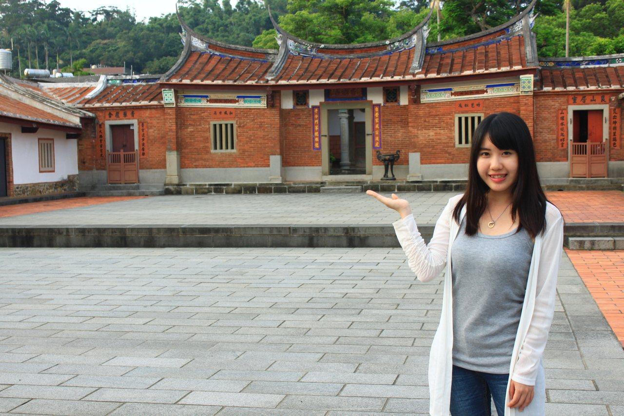 上枋寮劉宅又稱劉氏雙堂屋,因為擁有前後堂而得名。記者郭政芬/攝影