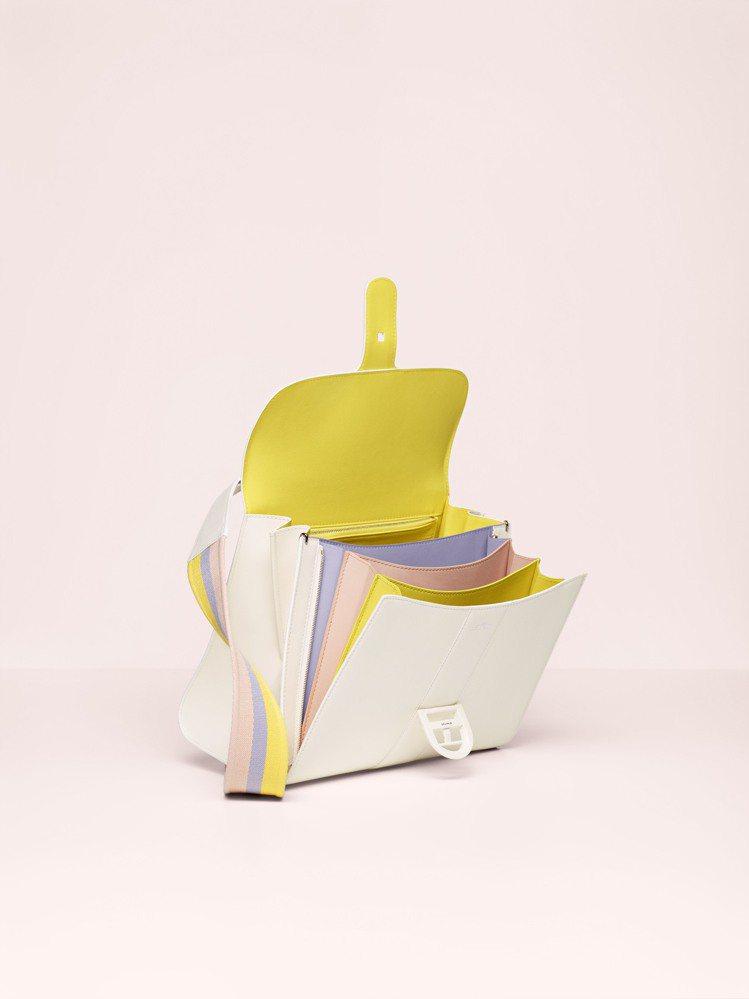 Brillant彩虹Magic中型牛皮手提包,售價29萬2,100元。圖/DEL...