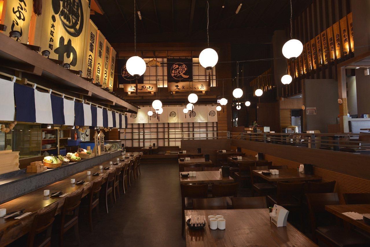 大江戶町鰻屋很有江戶時代氛圍。圖/大漁餐飲提供