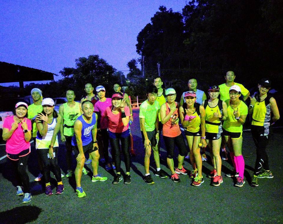 彰化縣和美鎮的和美夜跑已改名約跑,有興趣的持續夜跑,不再大規模舉辦活動。 圖/和...