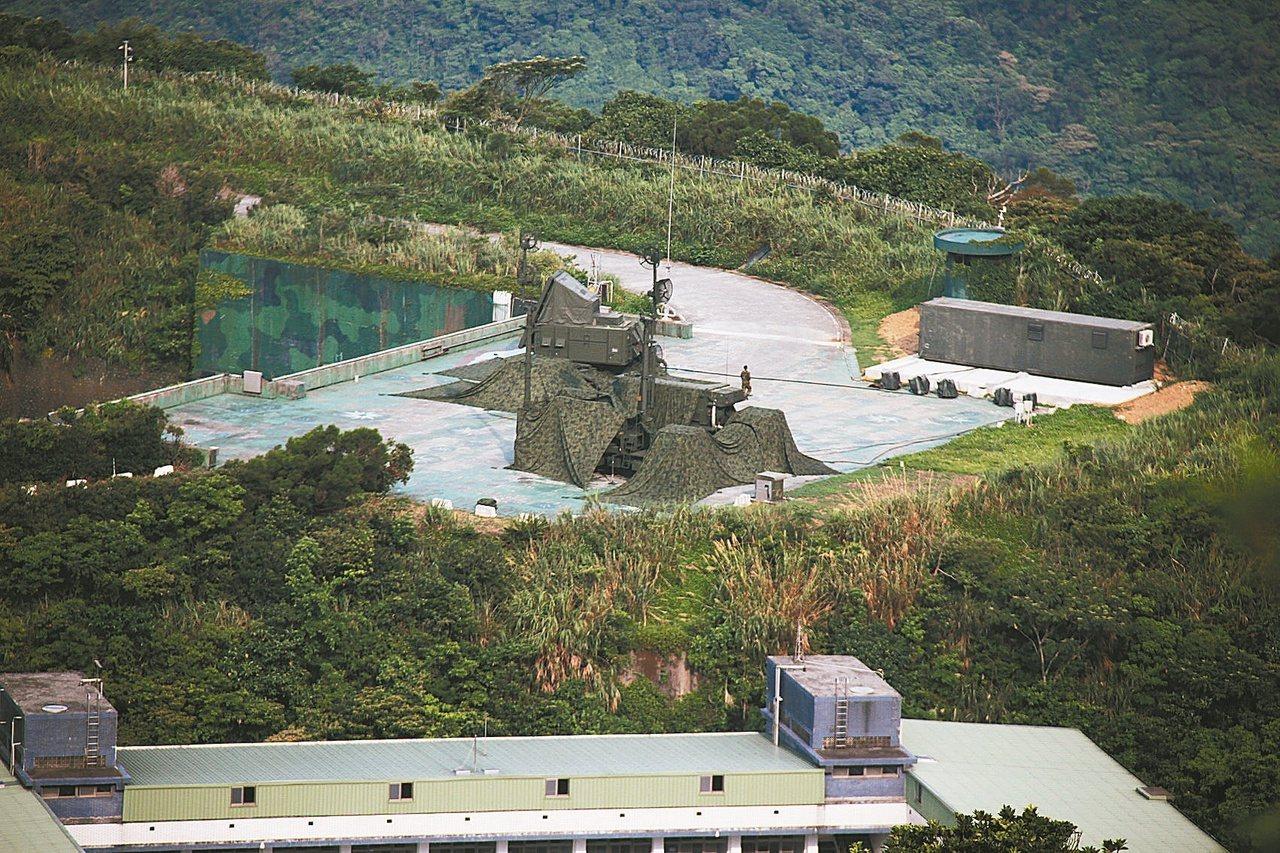 國軍防空飛彈指揮體系將自北部遷往南部。本報系資料圖片