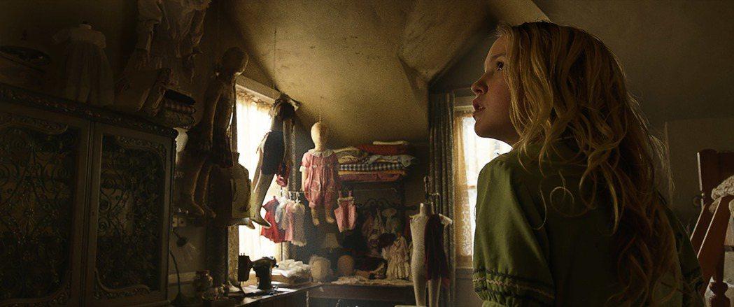 「安娜貝爾:造孽」劇照。圖/華納兄弟影業提供