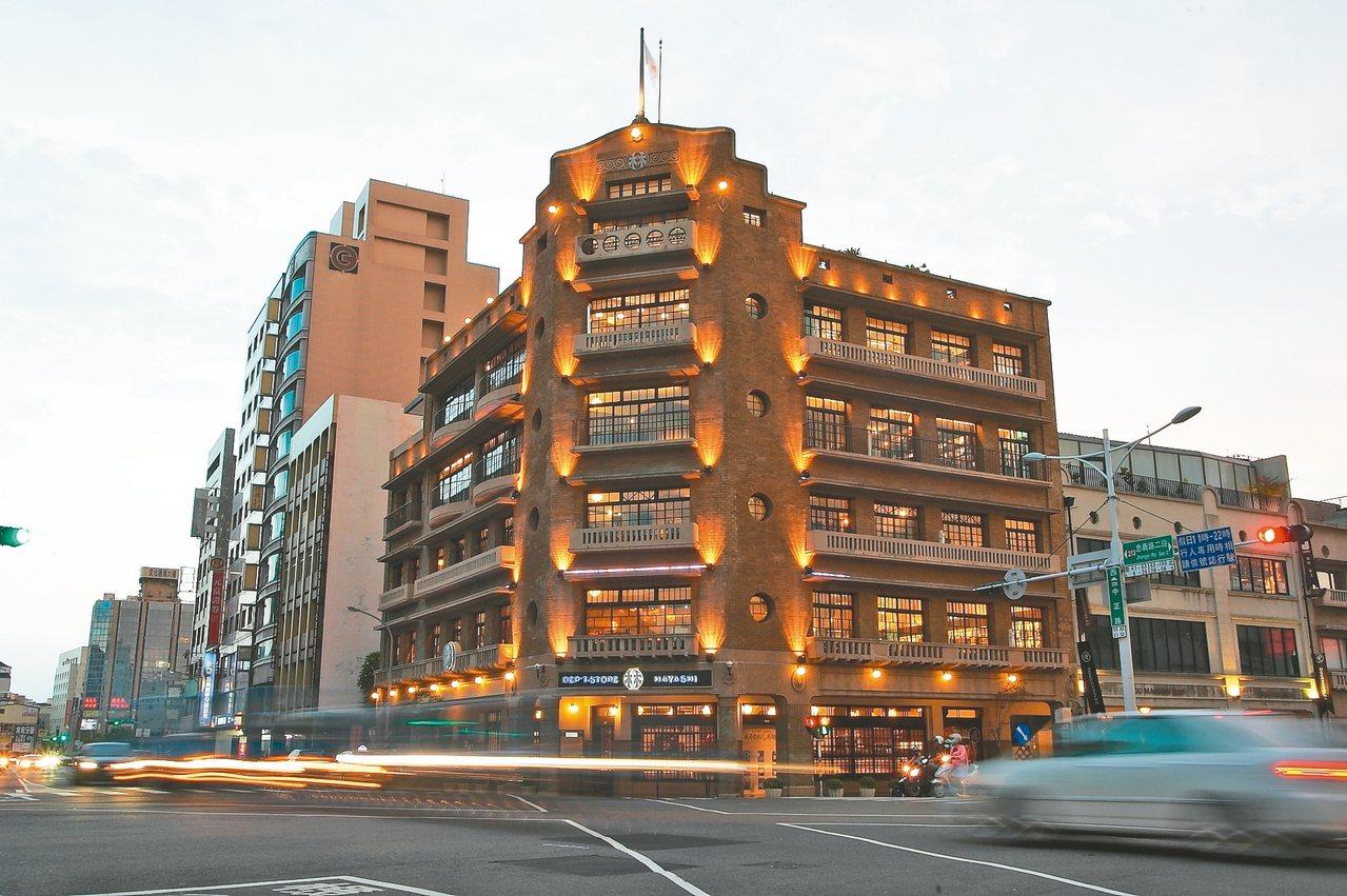 古色古香的林百貨,已是台南的新興文創聚集地。 記者陳睿中/攝影