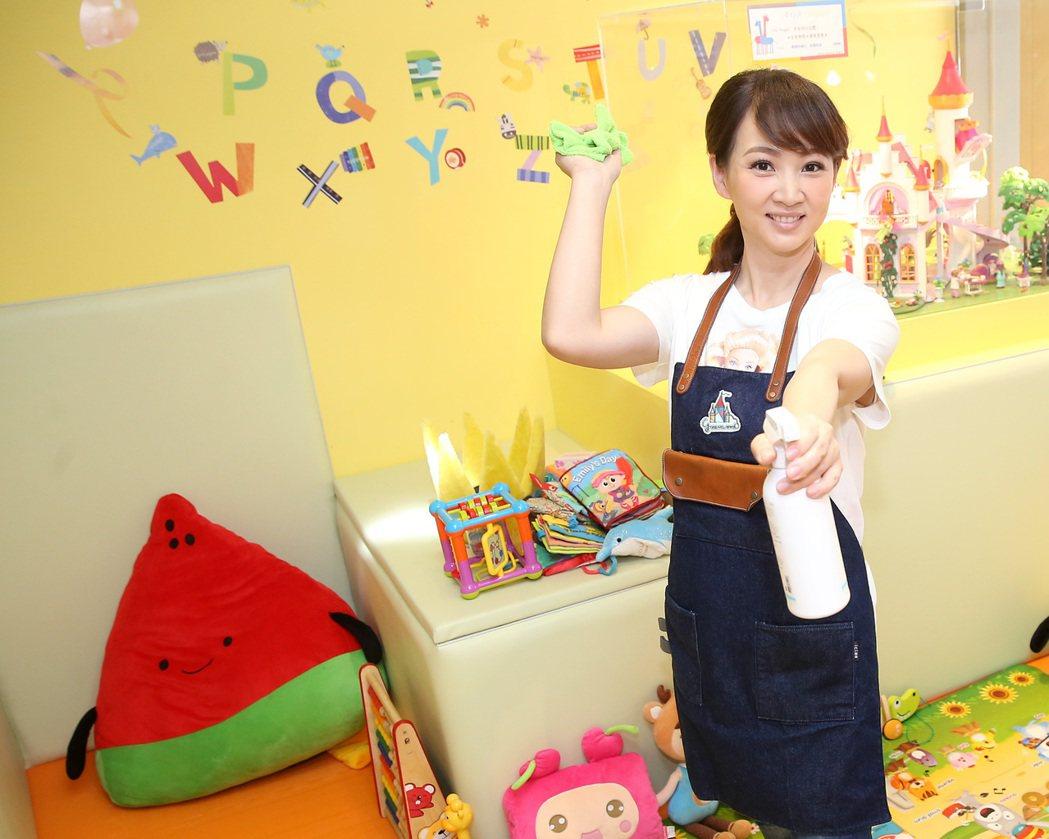 藝人郁方所經營的親子餐廳Greenwood Taipei格林屋。記者高彬原/攝影