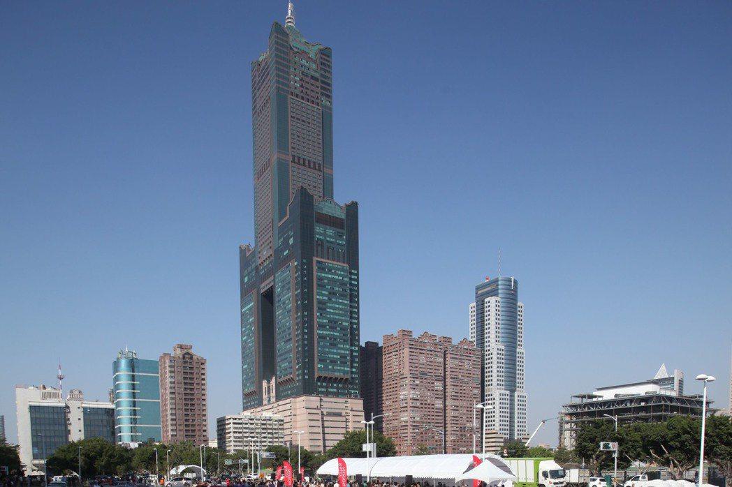 高雄85大樓。聯合報系資料照/記者劉學聖攝影