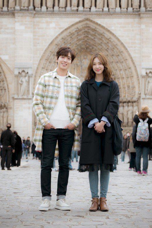 鄭容和搭檔李沇熹演出JTBC新戲《The Package》。 圖/JTBC
