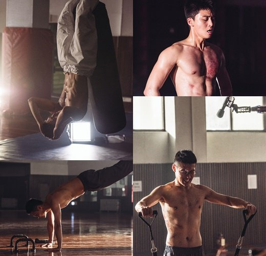 韓國電影《青年警察》方面7日公開了朴敘俊、姜河那最新劇照。 圖/Lotte en
