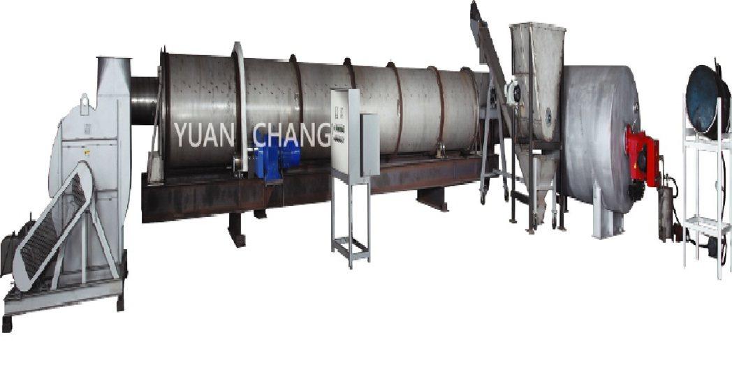 元錩開發的「有機肥製程全套處理設,採用最新處理技術,可將農業廢棄物於1〜3小時內...