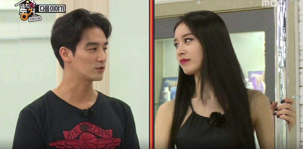 吳昶錫與朴芝妍在韓綜「無理的同居」中是最新加入的同居夥伴。 圖/擷自tv.nav...