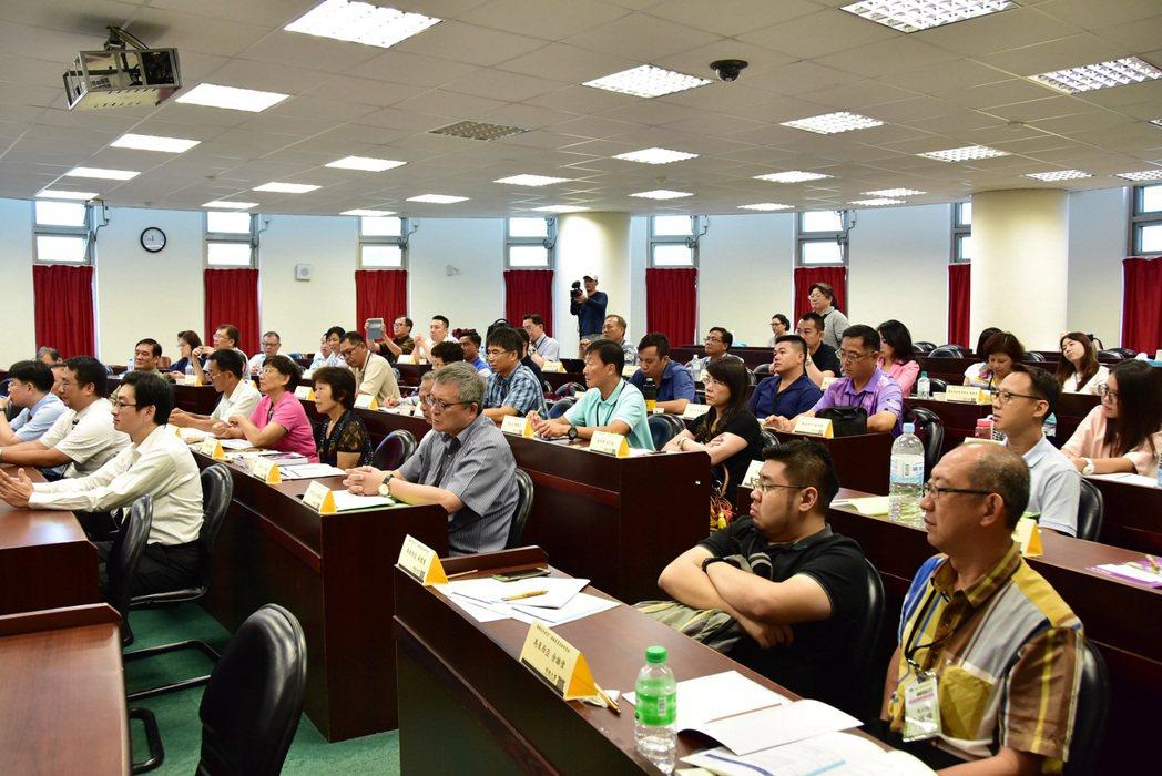 2017年海外僑台商精緻農業技術研習班開訓典禮。 明道大學/提供。