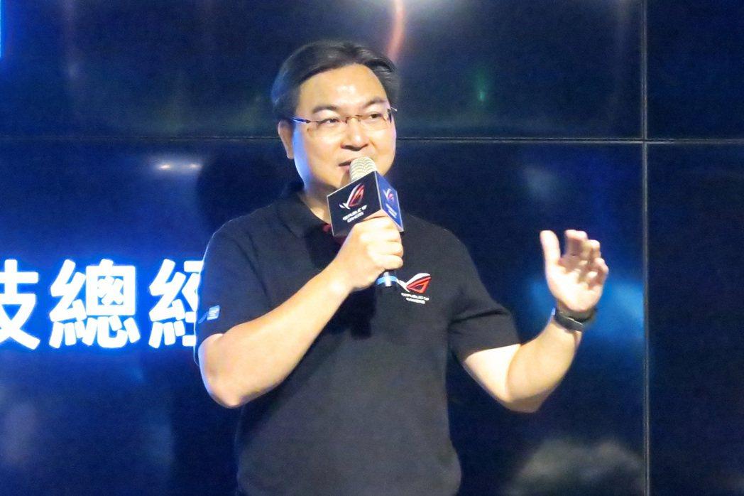 華碩聯合科技總經理林福能。 彭子豪/攝影