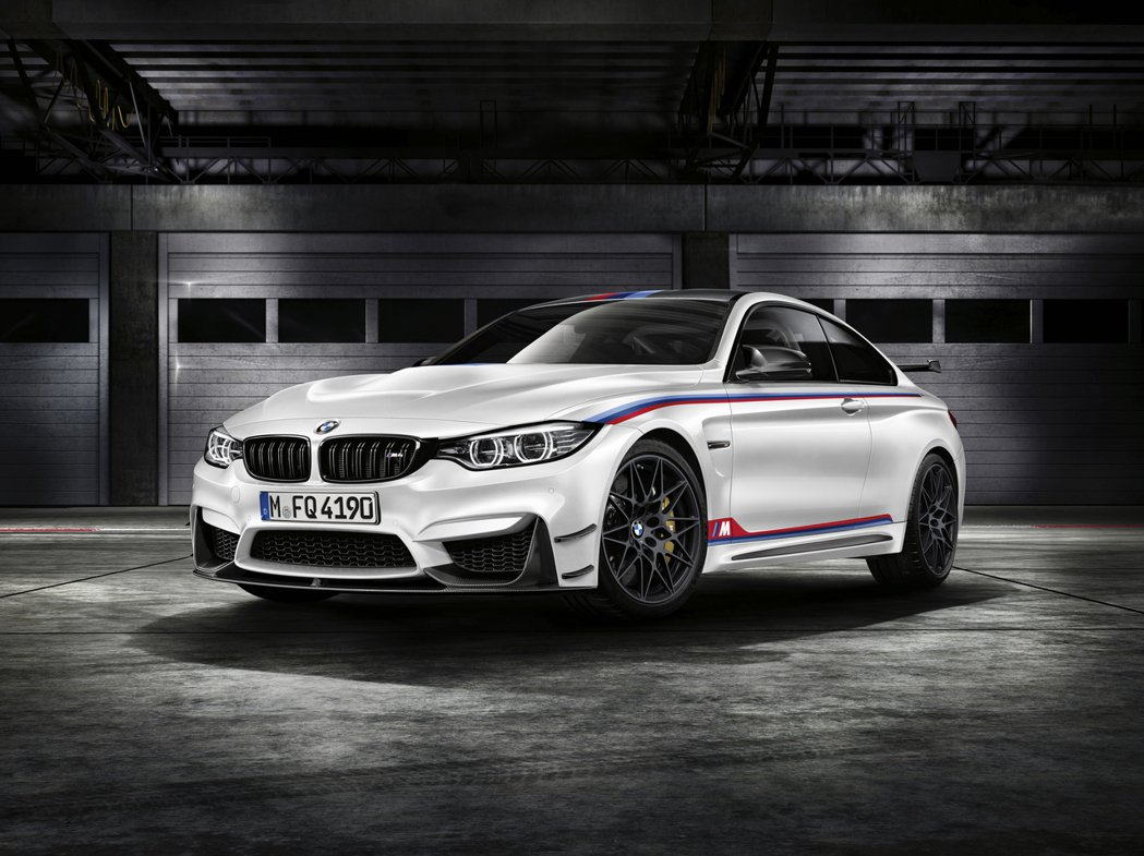 BMW M4 DTM Champion Edition。 圖/汎德提供