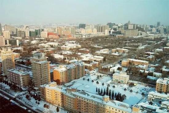 北京建國門外「第一使館區」資料照。 圖/取自微信公眾號政知見